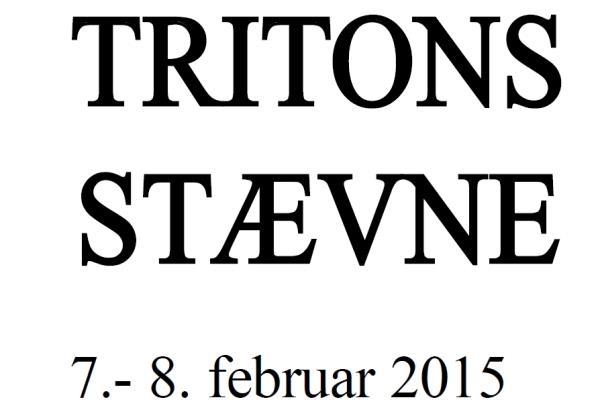 Tritons stævne 2015
