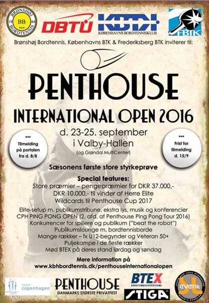 Penthouse International Open 2016