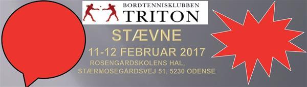 BTK Triton's vinterferie stævne 2017
